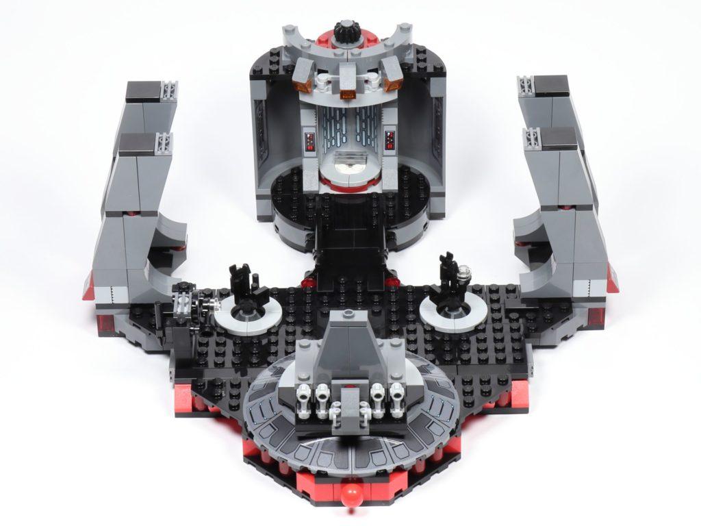 LEGO® Star Wars™ 75216 - Saal, von vorne | ©2019 Brickzeit