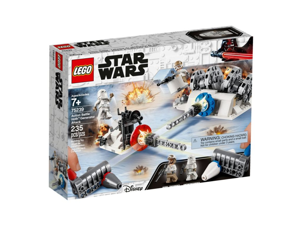 LEGO 75239 Action Battle Hoth™ Generator-Attacke - Packung Vorderseite | ©LEGO Gruppe