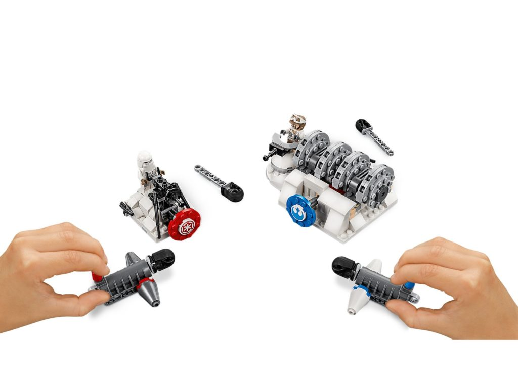 LEGO 75239 Action Battle Hoth™ Generator-Attacke - Bild 02 | ©LEGO Gruppe
