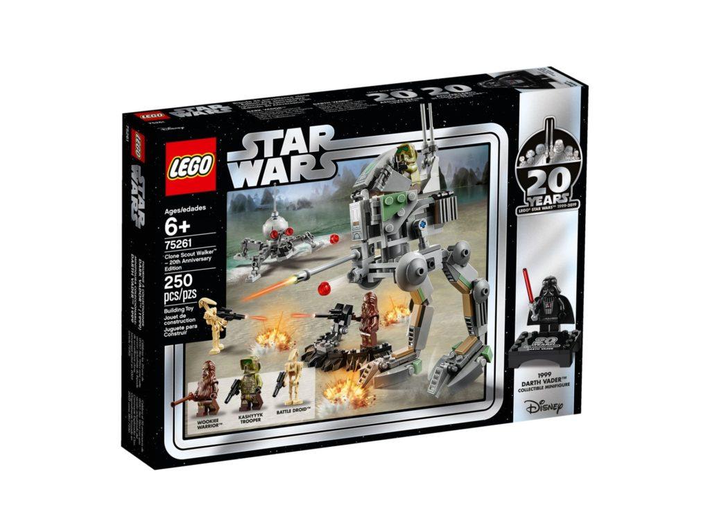 LEGO® 75261 Clone Scout Walker™ - 20 Jahre LEGO Star Wars - Packung Vorderseite | ©LEGO Gruppe