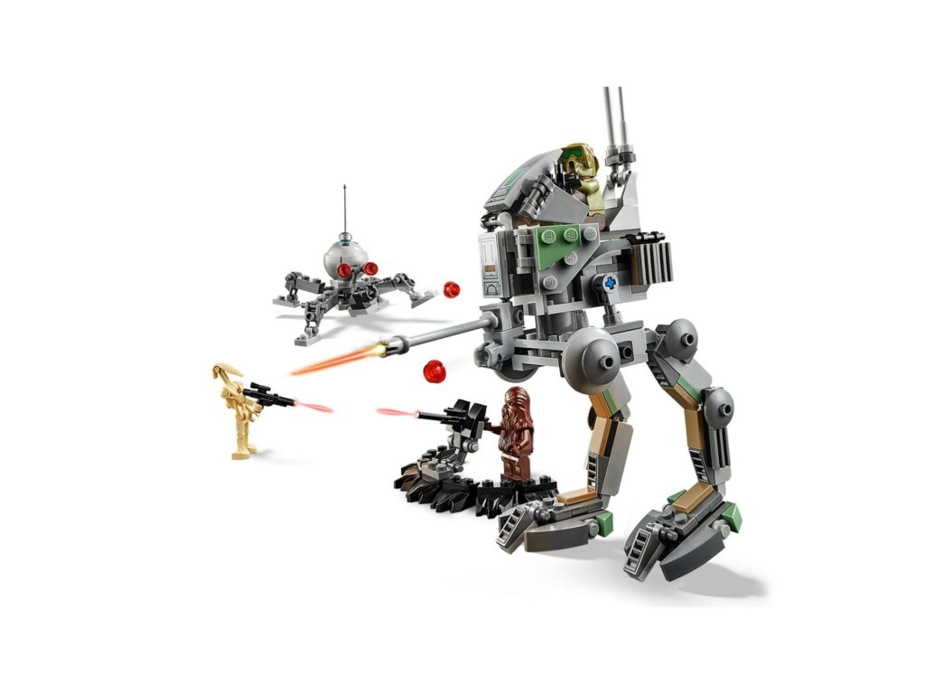 LEGO® 75261 Clone Scout Walker™ - 20 Jahre LEGO Star Wars - Bild 03 | ©LEGO Gruppe