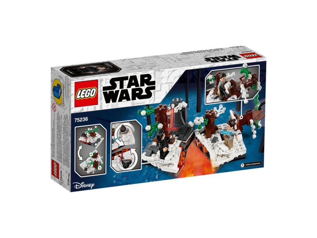 LEGO 75236 Duell um die Starkiller-Basis - Verpackung Rückseite | ©LEGO Gruppe