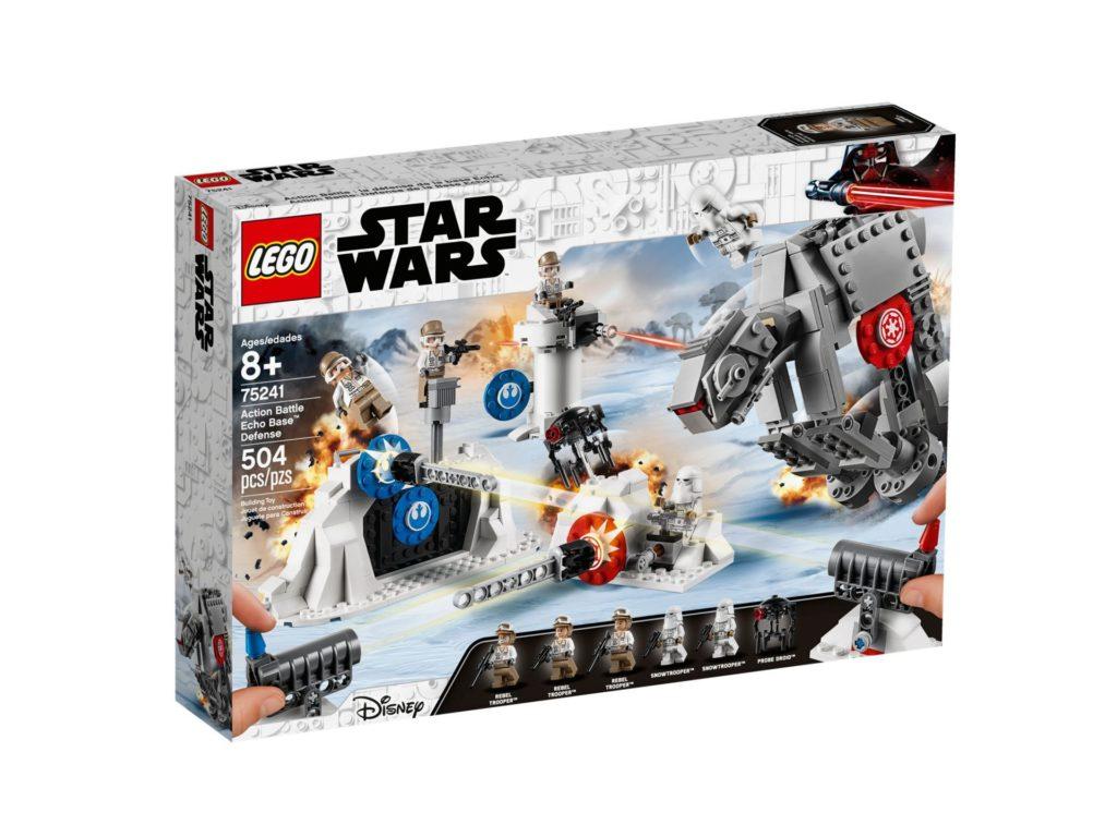 LEGO 75241 Action Battle Echo Base™ Verteidigung - Verpackung Vorderseite | ©LEGO Gruppe