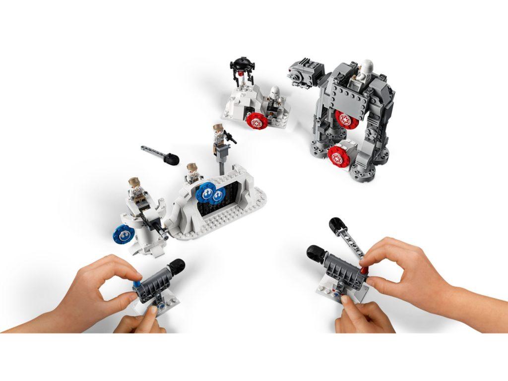 LEGO 75241 Action Battle Echo Base™ Verteidigung - Bild 02 | ©LEGO Gruppe