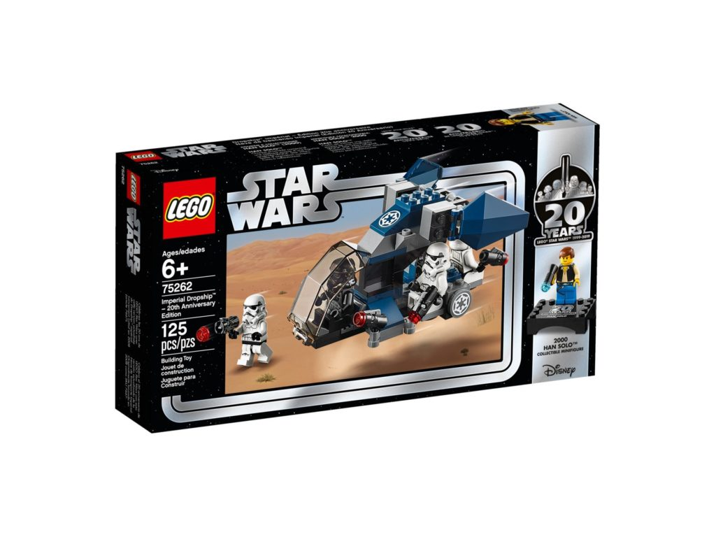 LEGO® 75262 Imperial Dropship™ - 20 Jahre LEGO Star Wars - Packung Vorderseite | ©LEGO Gruppe