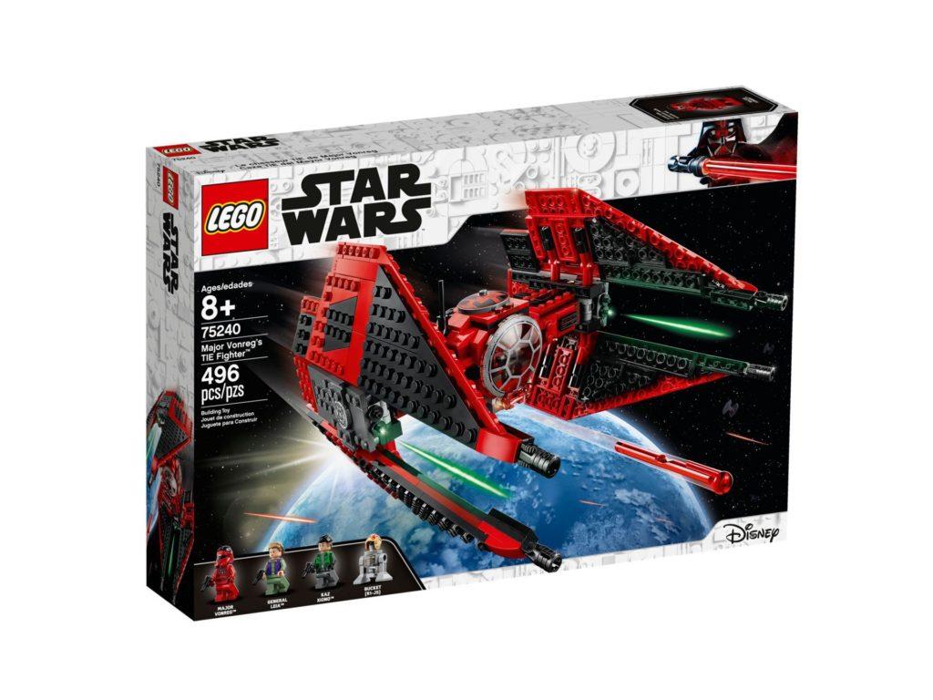 LEGO 75240 Major Vonreg's TIE Fighter™ - Packung Vorderseite | ©LEGO Gruppe
