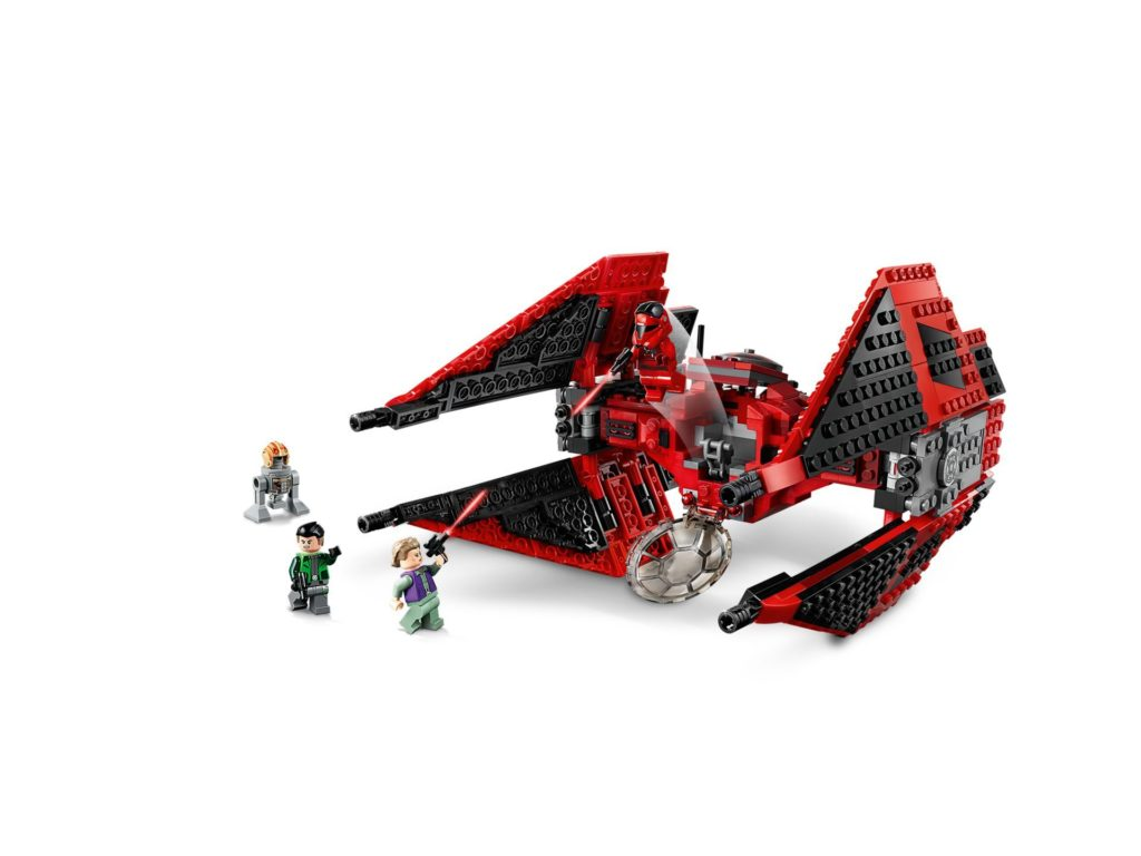 LEGO 75240 Major Vonreg's TIE Fighter™ - Bild 02 | ©LEGO Gruppe