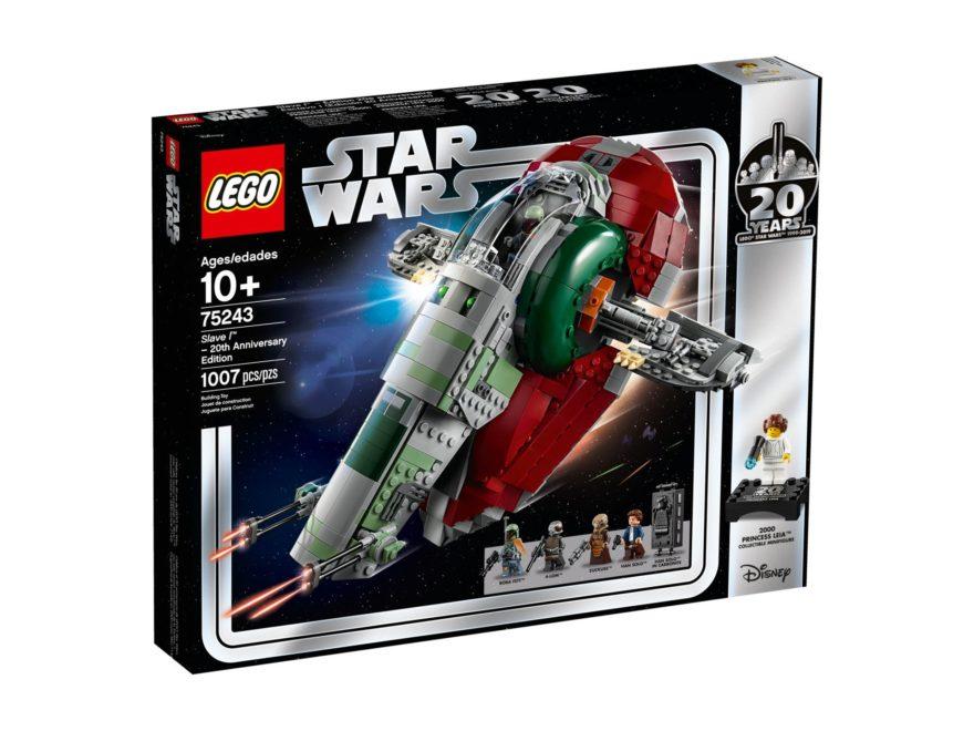 LEGO® 75243 Slave I™ - 20 Jahre LEGO Star Wars - Packung Vorderseite | ©LEGO Gruppe