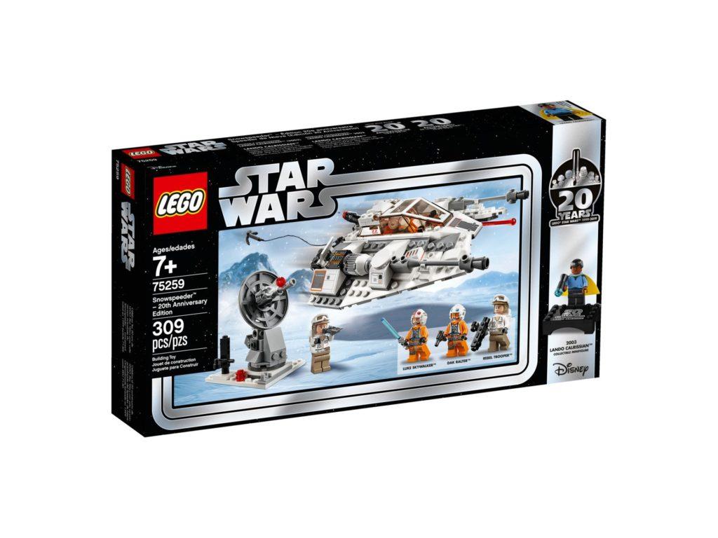 LEGO® 75259 Snowspeeder™ - 20 Jahre LEGO Star Wars - Packung Vorderseite | ©LEGO Gruppe