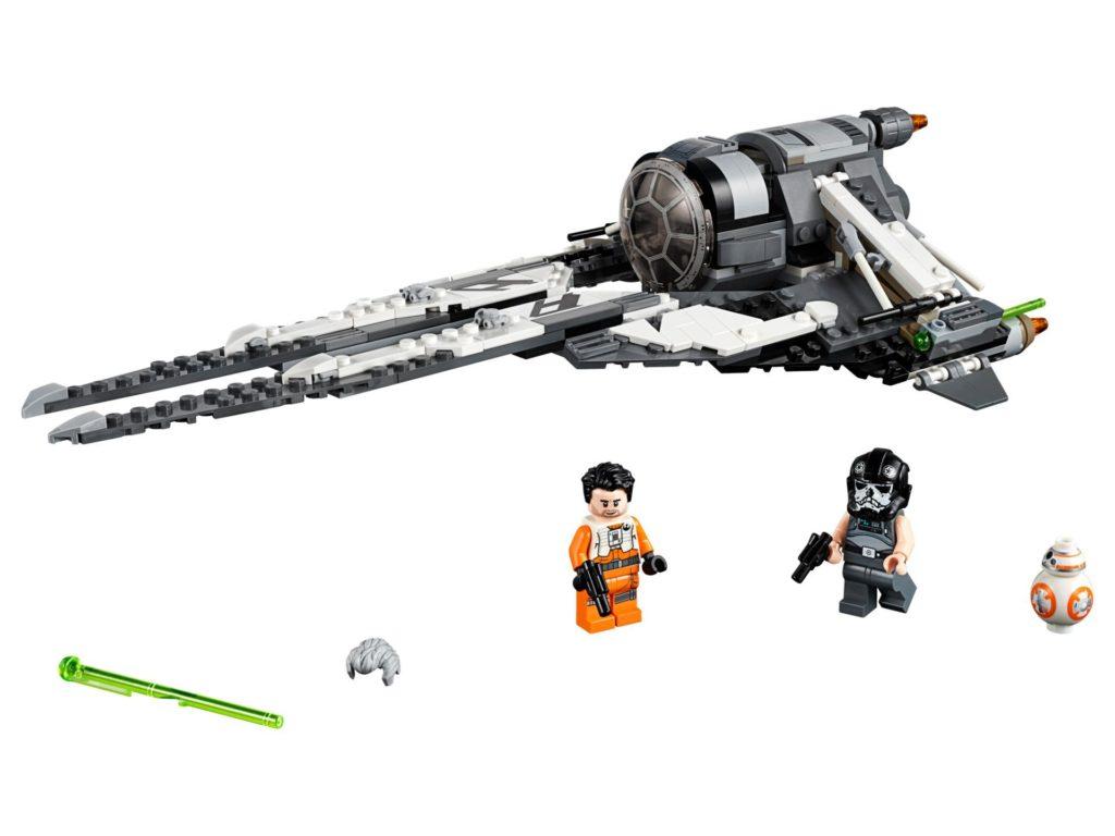 LEGO 75242 TIE Interceptor™ - Allianz-Pilot - Bild 01 | ©LEGO Gruppe