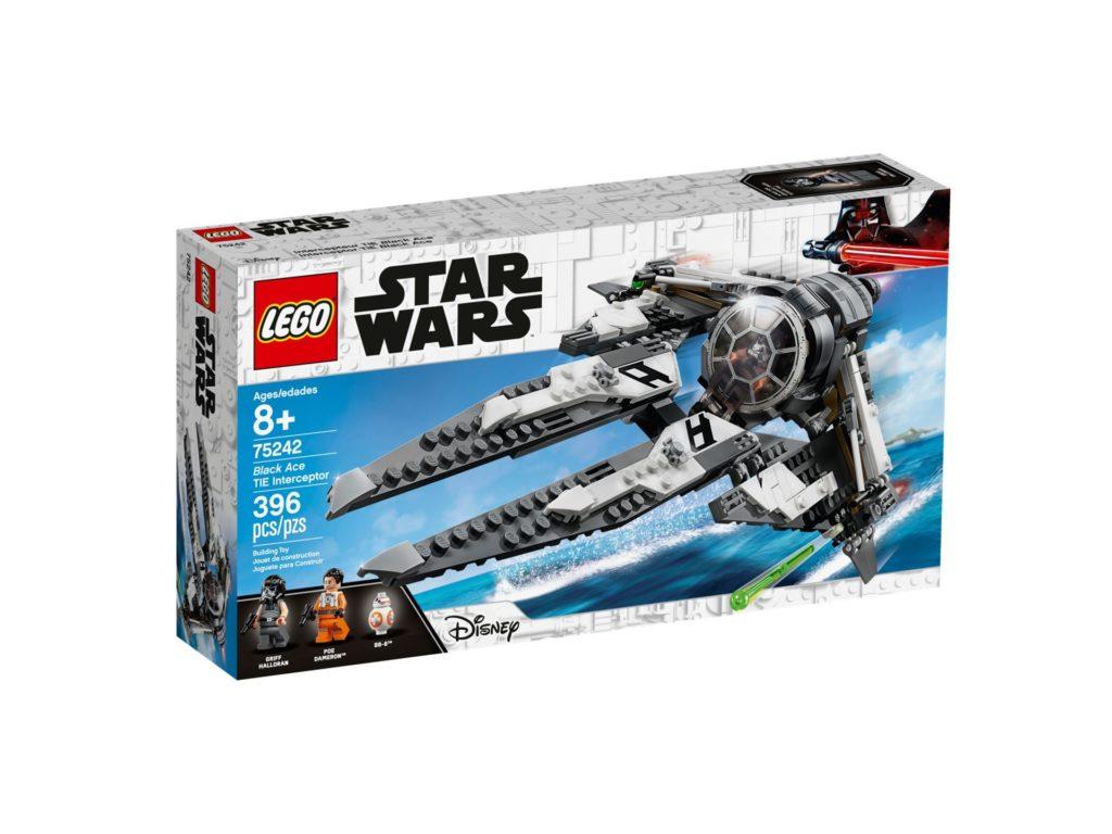 LEGO 75242 TIE Interceptor™ - Allianz-Pilot - Verpackung Vorderseite | ©LEGO Gruppe