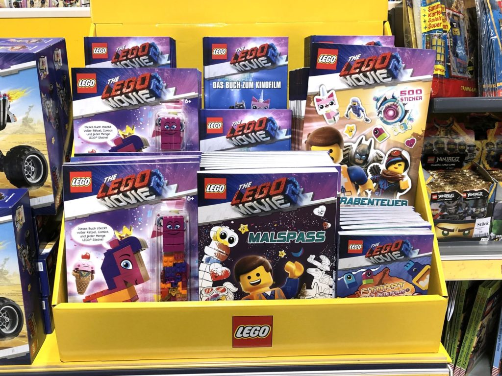 THE LEGO® MOVIE 2 Hefte und Bücher | ©2019 Brickzeit