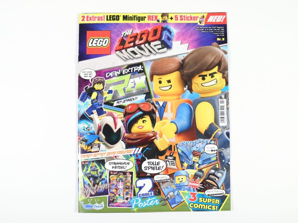 THE LEGO® MOVIE 2 Magazin Nr. 2 - Cover | ©2019 Brickzeit