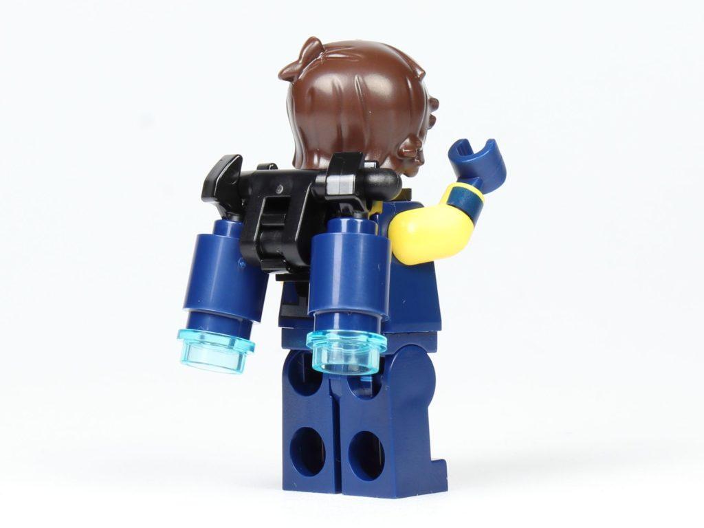 THE LEGO® MOVIE 2 Magazin Nr. 2 - Rex mit Jetpack, Rückseite | ©2019 Brickzeit