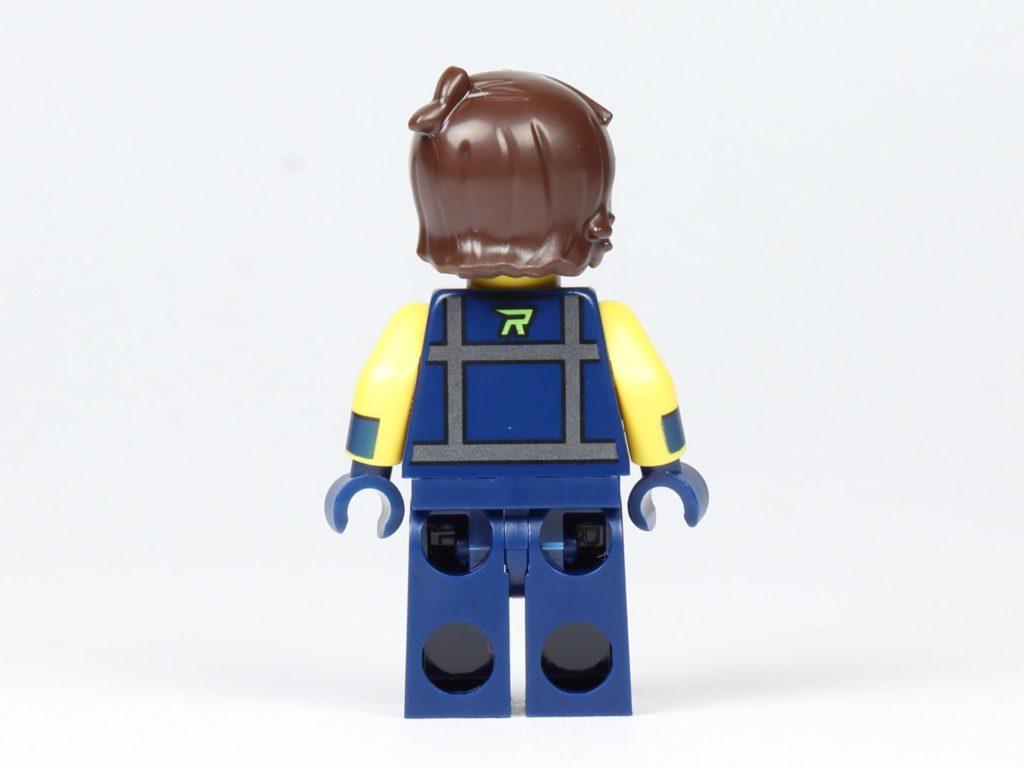 THE LEGO® MOVIE 2 Magazin Nr. 2 - Rex, Rückseite | ©2019 Brickzeit