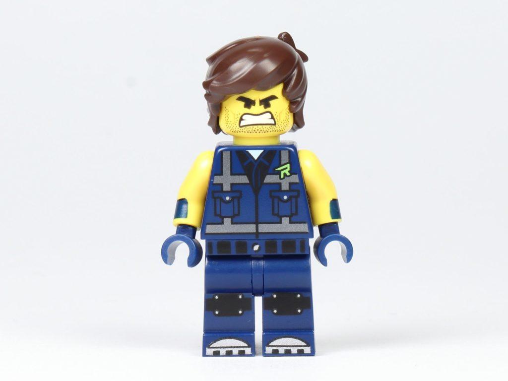 THE LEGO® MOVIE 2 Magazin Nr. 2 - Rex, Vorderseite und alternatives Gesicht | ©2019 Brickzeit