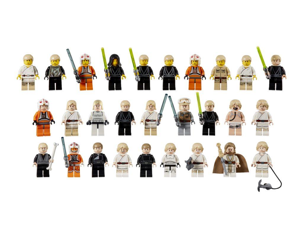 20 Jahre LEGO Star Wars - Evolution of Luke Skywalker | ©LEGO Gruppe