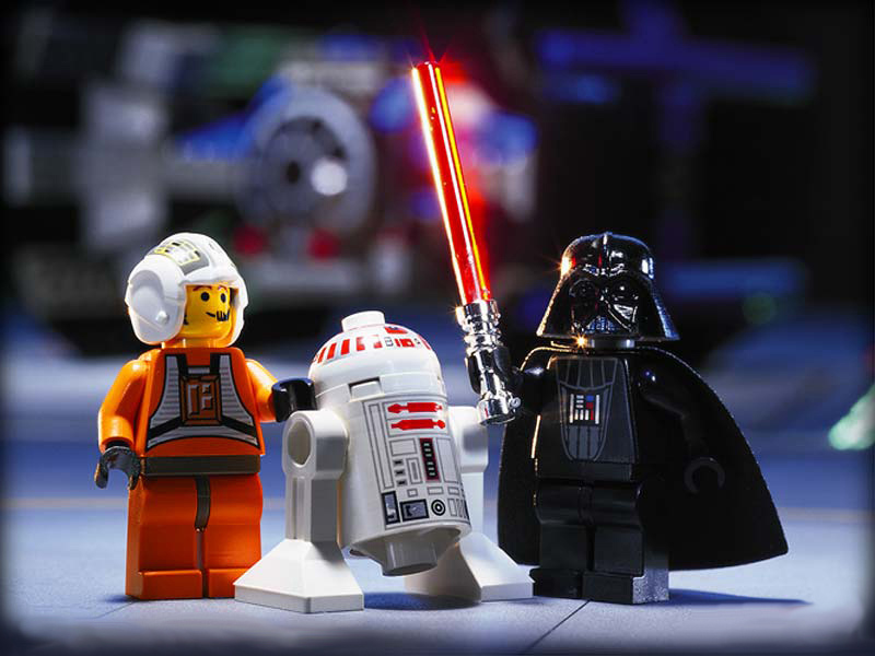 20 Jahre LEGO Star Wars - Luke und Darth Vader | ©LEGO Gruppe