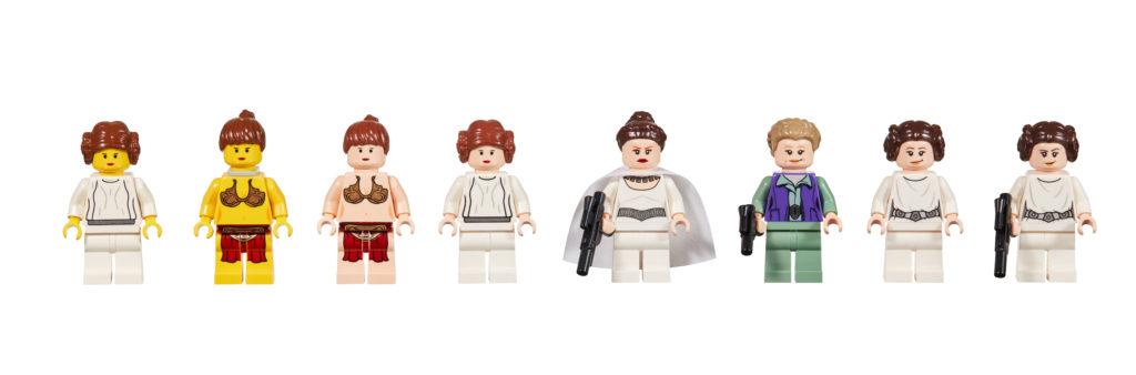 20 Jahre LEGO Star Wars - Evolution of Princess Leia | ©LEGO Gruppe