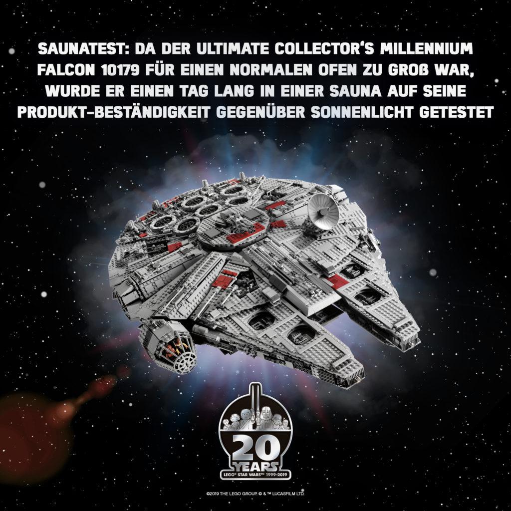 20 Jahre LEGO Star Wars - Wusstest du? | ©LEGO Gruppe