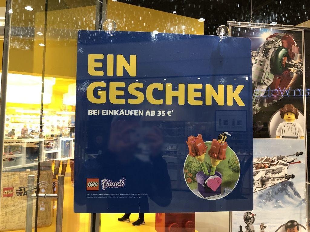 Gratis LEGO Tulpen Schild | ©2019 Brickzeit
