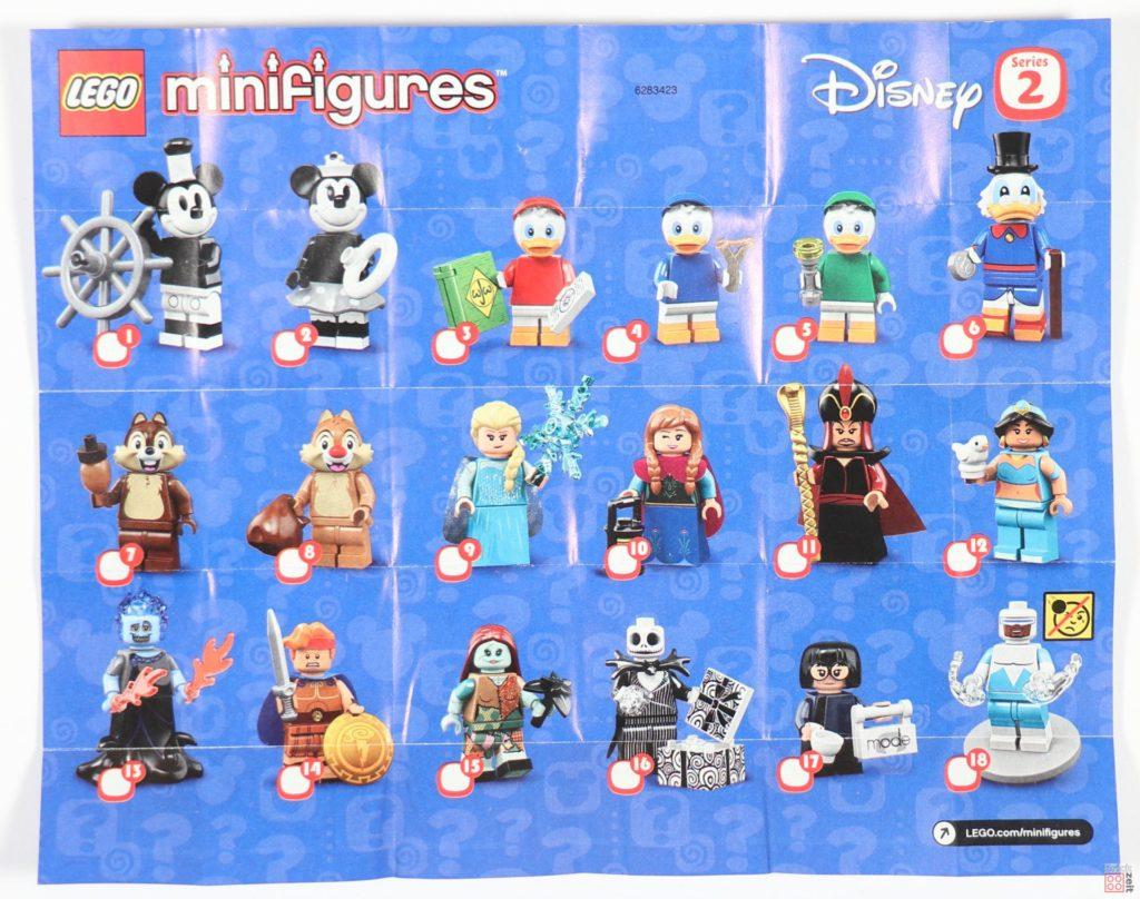 LEGO® 71024 Die Disney Minifiguren Serie 2 - Anleitung, Vorderseite | ©2019 Brickzeit