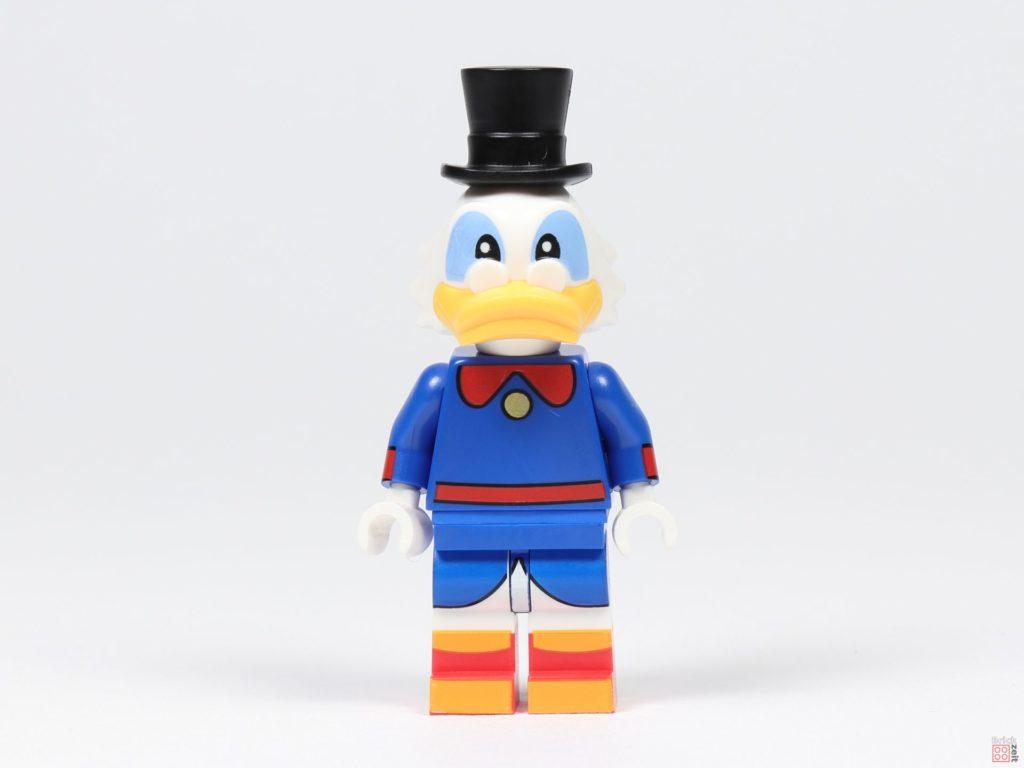 LEGO® 71024 - Dagobert Duck, Vorderseite | ©2019 Brickzeit