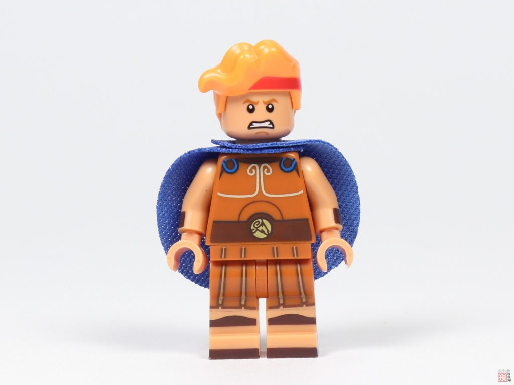 LEGO® 71024 - Hercules, Vorderseite, alternatives Gesicht | ©2019 Brickzeit