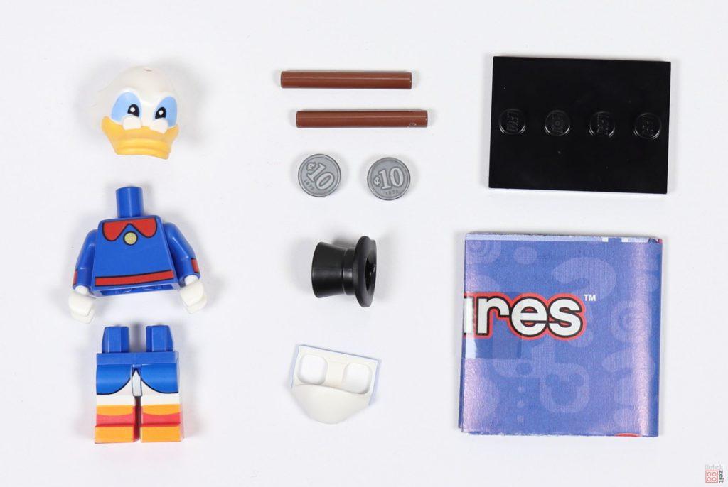 LEGO® 71024 - Inhalt Minifigur Dagobert Duck | ©2019 Brickzeit