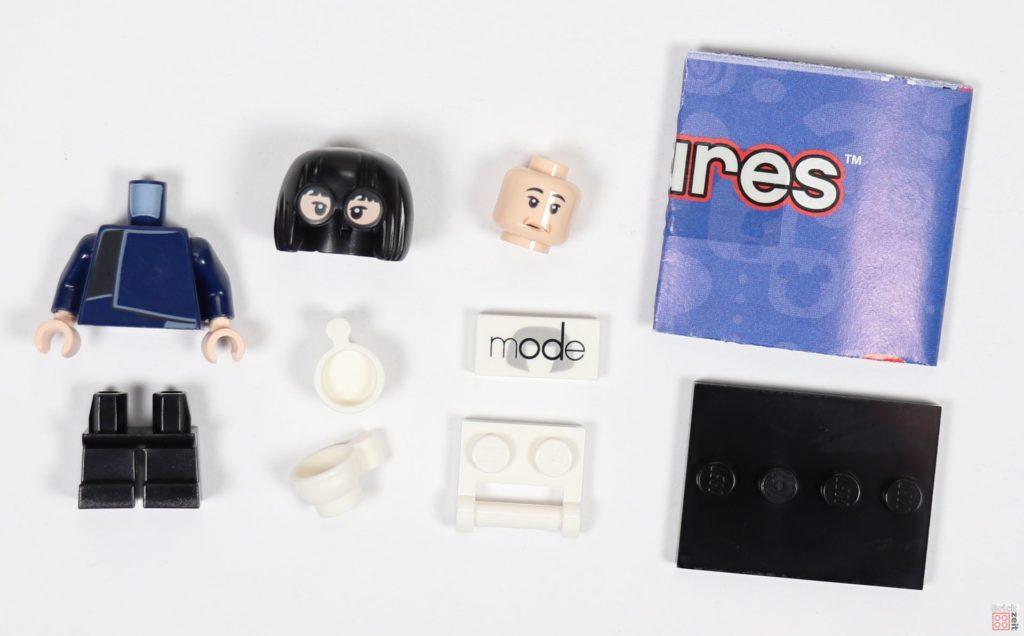LEGO® 71024 - Inhalt Minifigur Edna Mode | ©2019 Brickzeit
