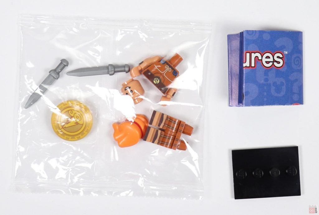 LEGO® 71024 - Inhalt Minifigur Hercules mit Tütchen | ©2019 Brickzeit