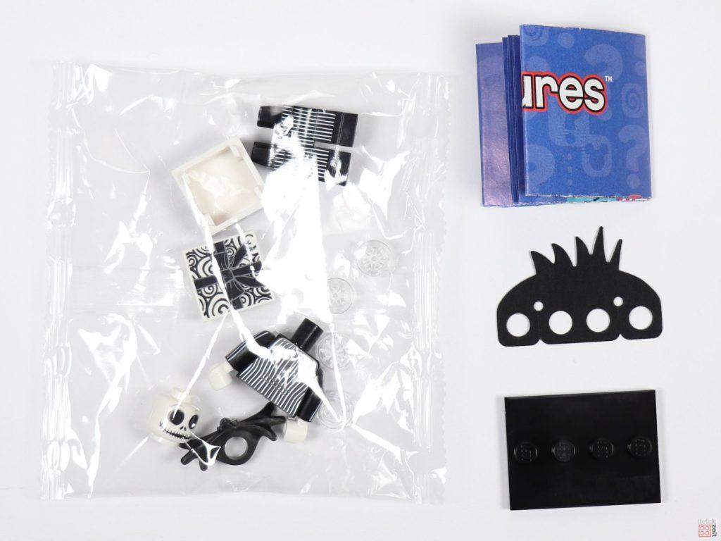 LEGO® 71024 - Inhalt Minifigur Jack Skellington mit Tütchen | ©2019 Brickzeit