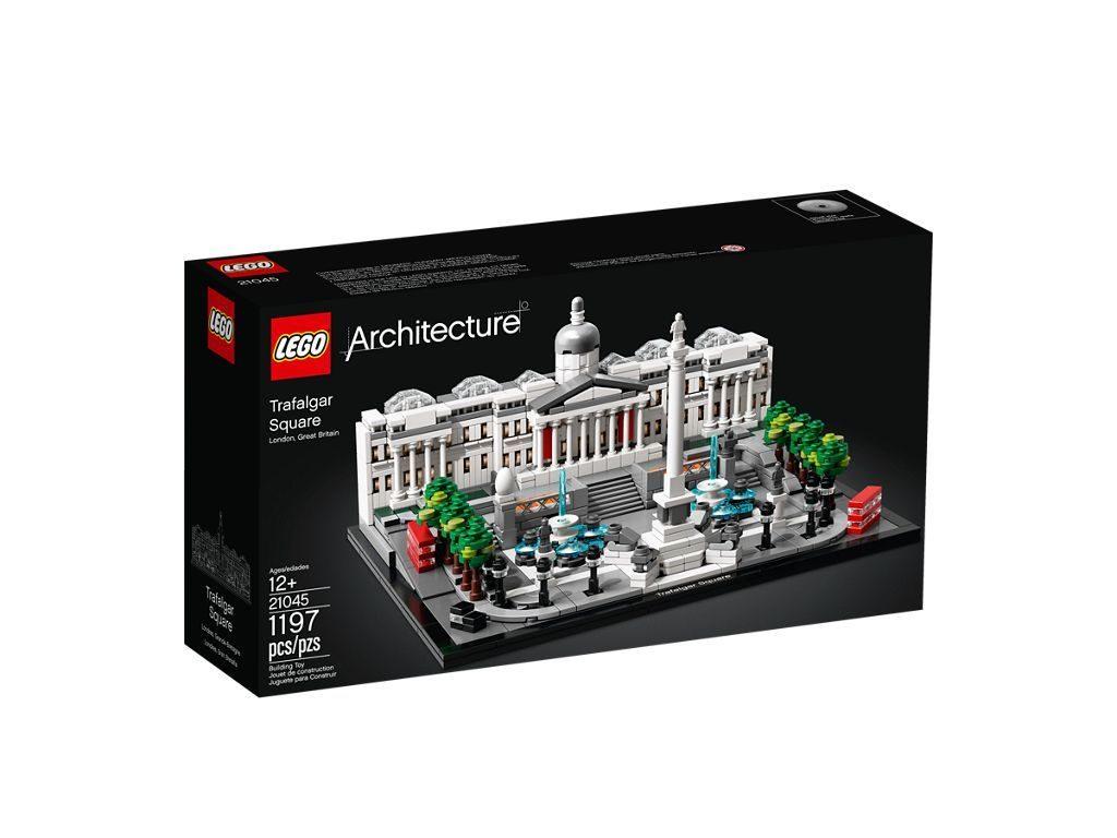 LEGO® Architecture 21045 Trafalgar Square - Packung Vorderseite | ©LEGO Gruppe