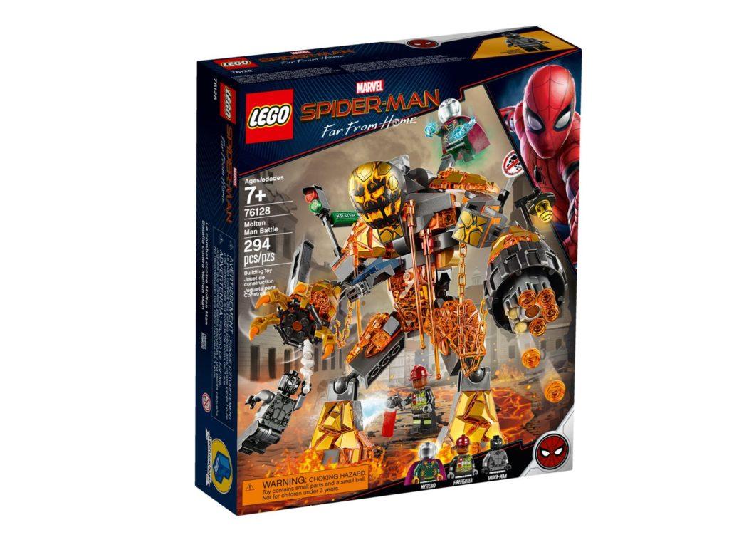LEGO® Marvel 76128 Duell mit Molten Man - Bild 5 | ©LEGO Gruppe
