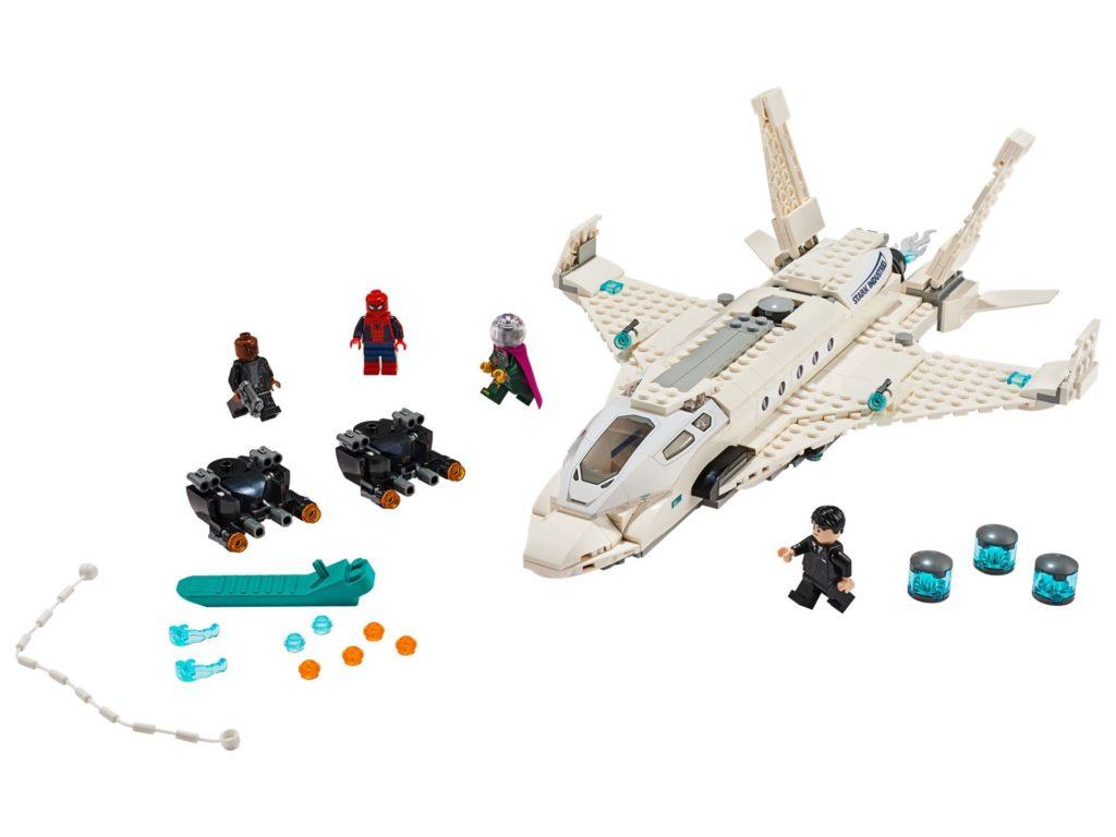 LEGO® Marvel 76130 Starks Jet und der Drohnenangriff - Bild 1 | ©LEGO