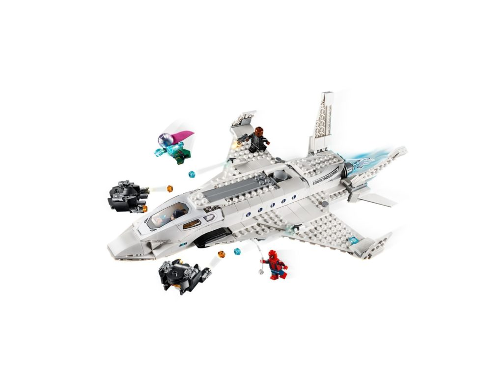 LEGO® Marvel 76130 Starks Jet und der Drohnenangriff - Bild 4 | ©LEGO