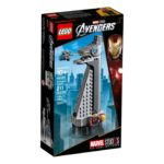LEGO® Marvel Super Heroes 40334 Avengers Tower - Packung Vorderseite | ©LEGO Gruppe