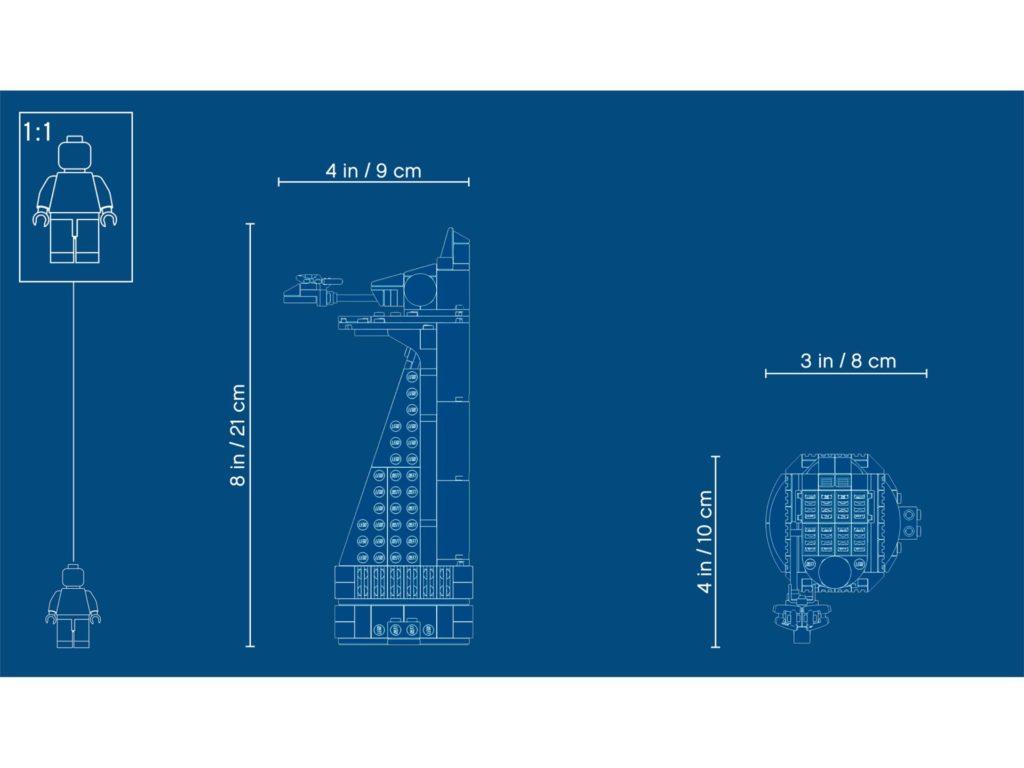 LEGO® Marvel Super Heroes 40334 Avengers Tower - Blue Print | ©LEGO Gruppe