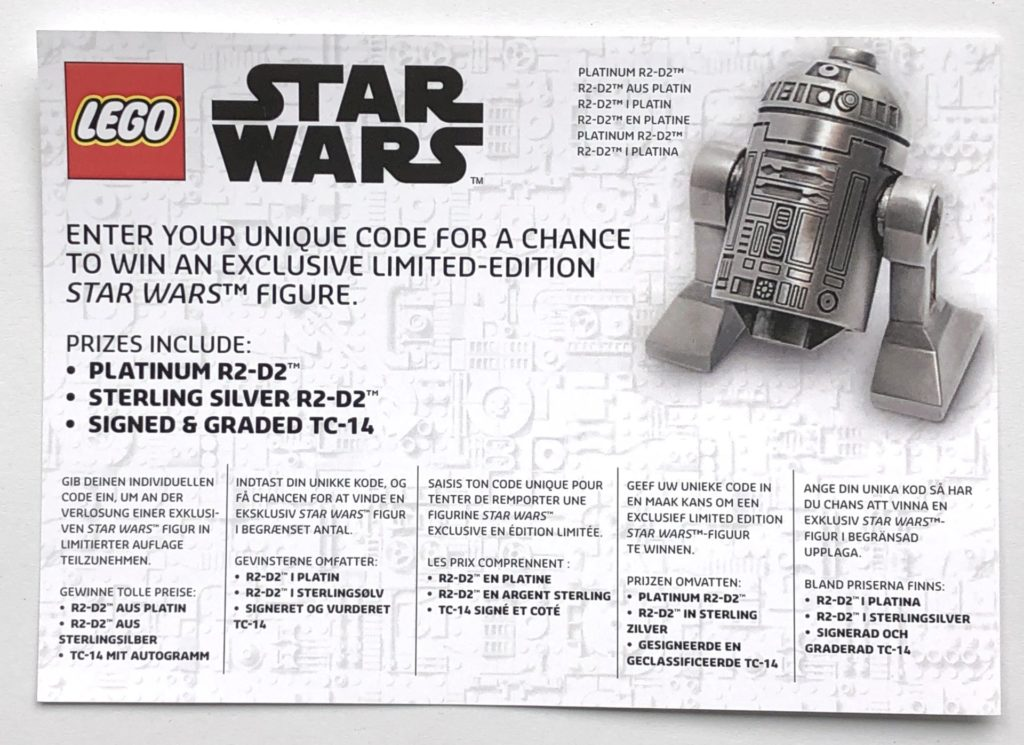 LEGO® Star Wars™ 5005704 - Gewinnspielflyer, Vorderseite