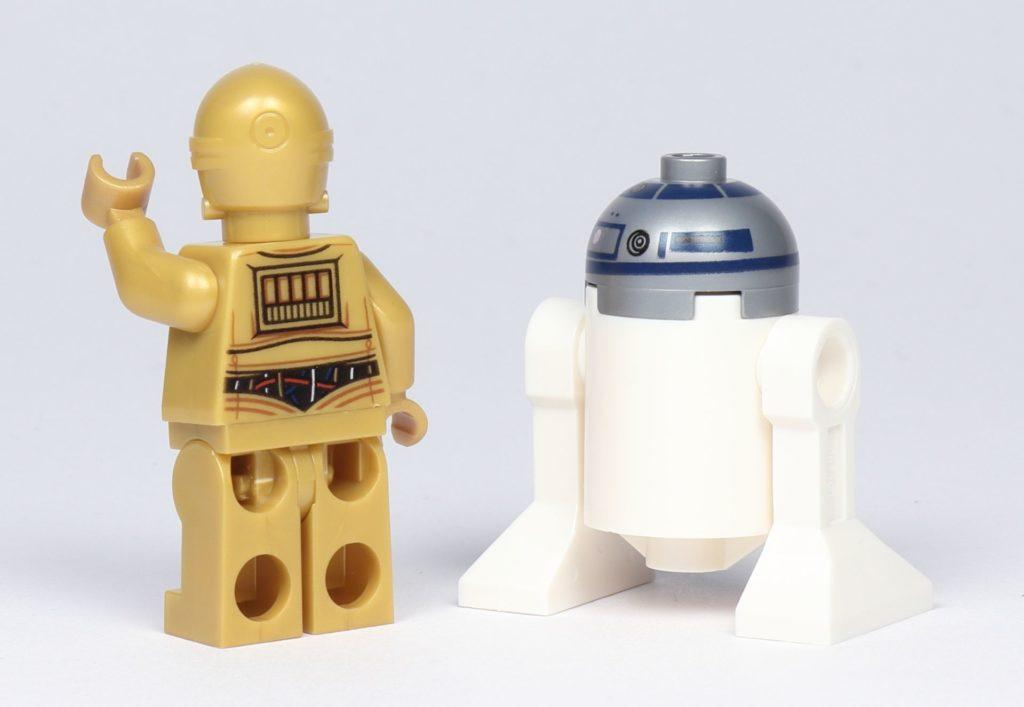 LEGO® Star Wars™ 75228 - C-3PO und R2-D2, Rückseite | ©2019 Brickzeit