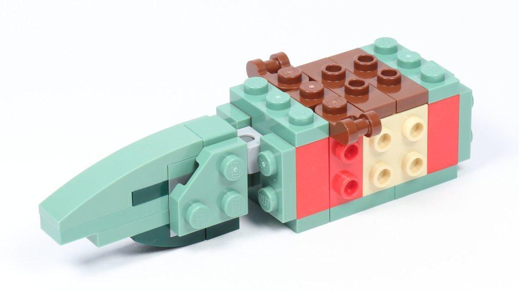 LEGO® Star Wars™ 75228 - Aufbau Dewback, Schritt 07 | ©2019 Brickzeit