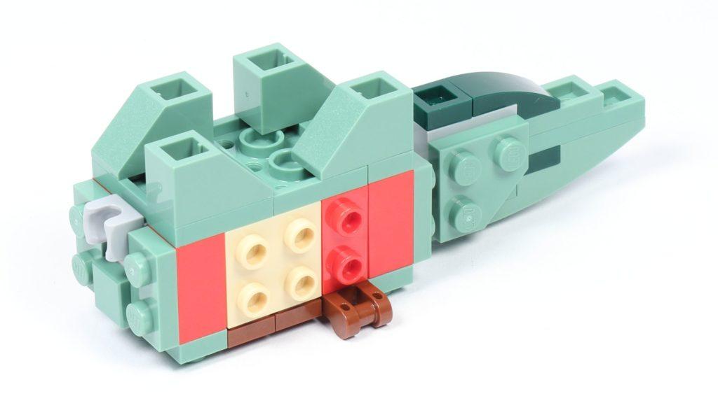 LEGO® Star Wars™ 75228 - Aufbau Dewback, Schritt 08 | ©2019 Brickzeit