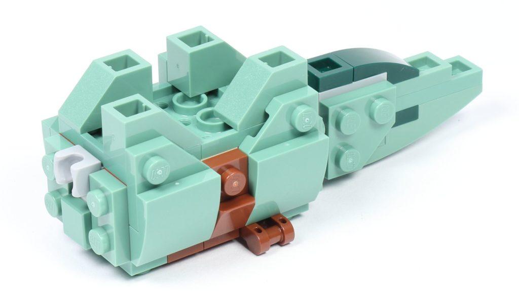 LEGO® Star Wars™ 75228 - Aufbau Dewback, Schritt 09 | ©2019 Brickzeit