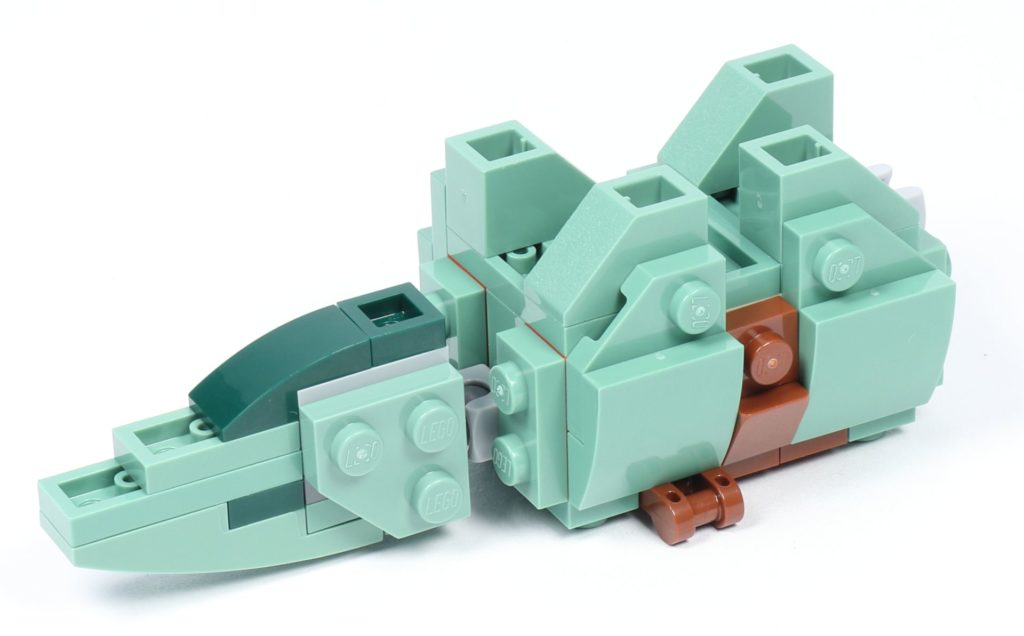 LEGO® Star Wars™ 75228 - Aufbau Dewback, Schritt 10 | ©2019 Brickzeit