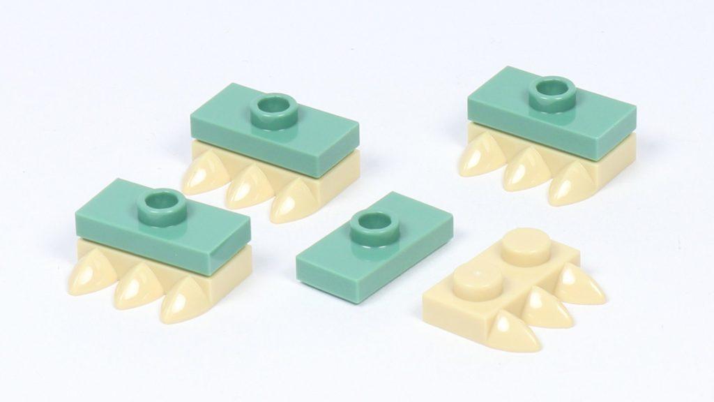 LEGO® Star Wars™ 75228 - Aufbau Dewback, Schritt 11 | ©2019 Brickzeit