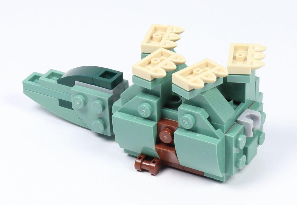LEGO® Star Wars™ 75228 - Aufbau Dewback, Schritt 12 | ©2019 Brickzeit