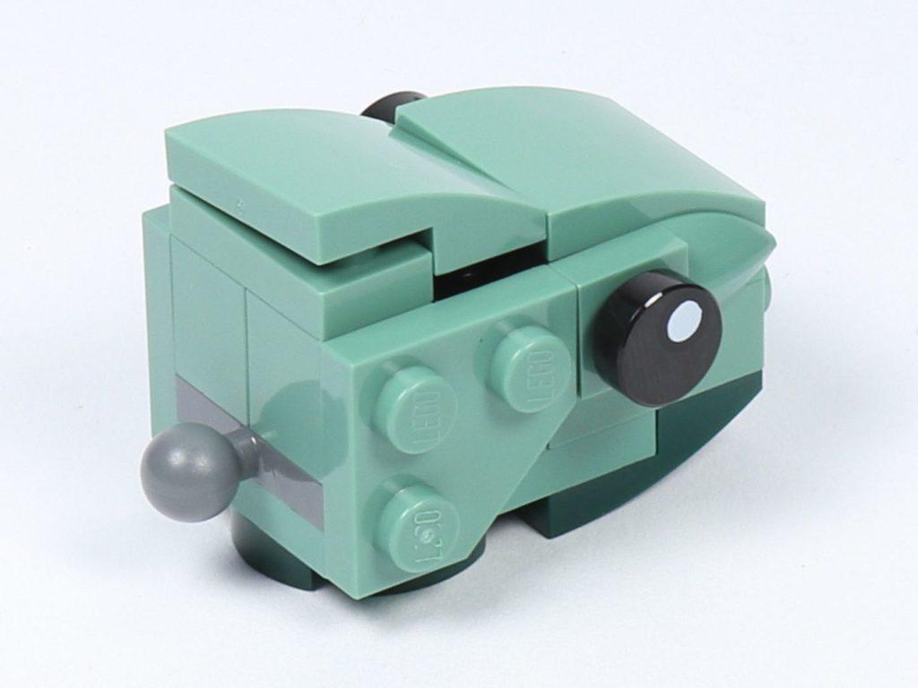 LEGO® Star Wars™ 75228 - Aufbau Dewback, Schritt 14 | ©2019 Brickzeit