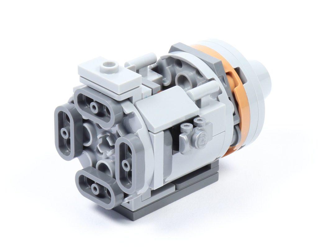 LEGO® Star Wars™ 75228 - Aufbau Escape Pod, Schritt 03 | ©2019 Brickzeit