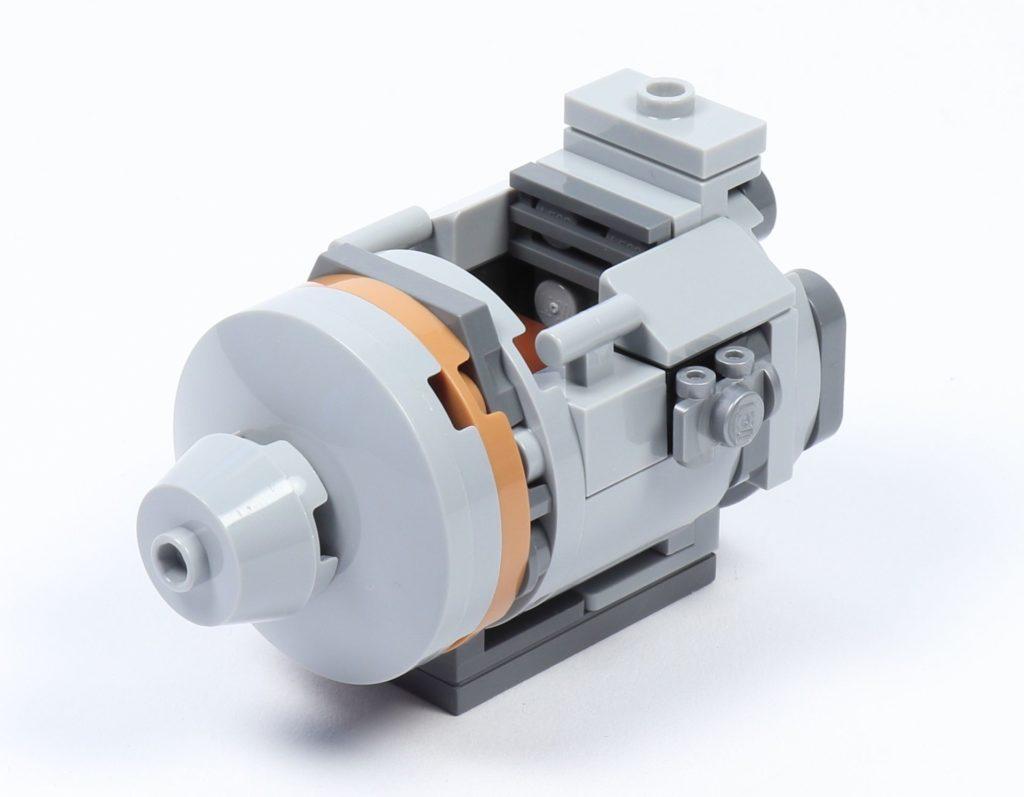 LEGO® Star Wars™ 75228 - Aufbau Escape Pod, Schritt 04 | ©2019 Brickzeit