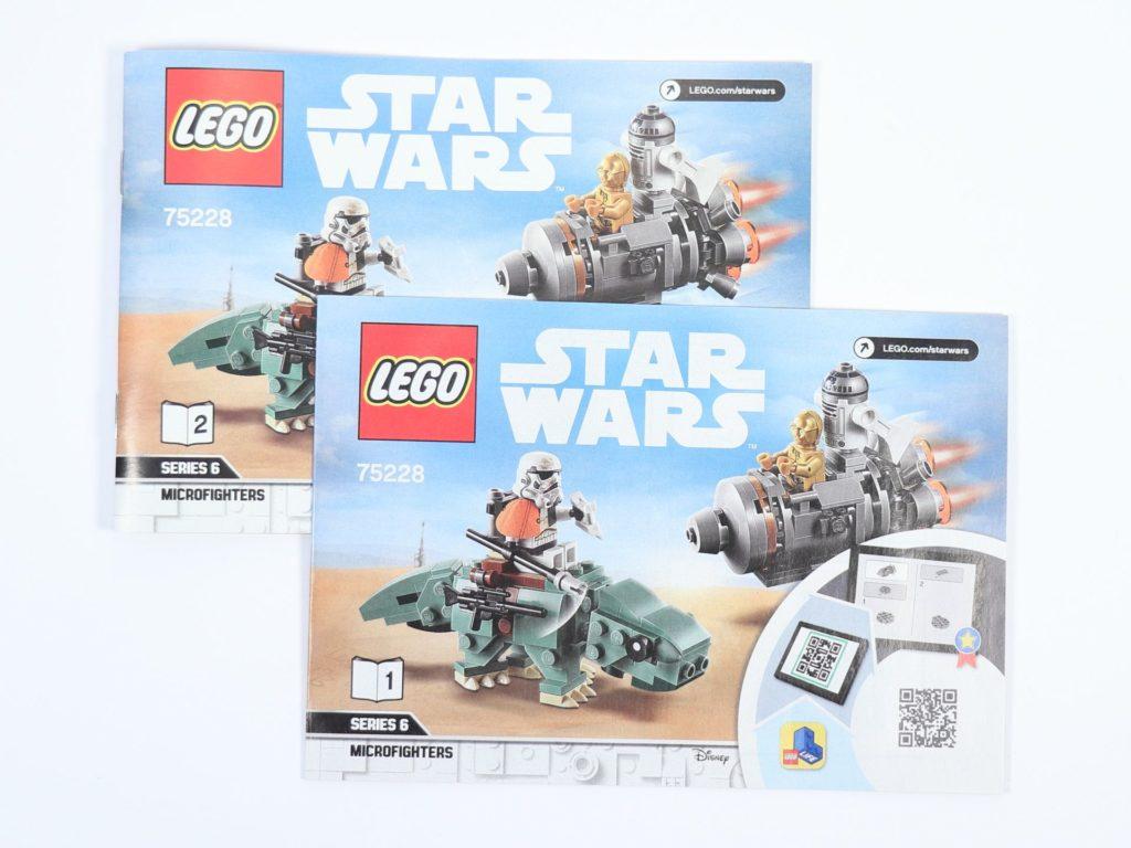 LEGO® Star Wars™ 75228 - Inhalt, Anleitungen | ©2019 Brickzeit
